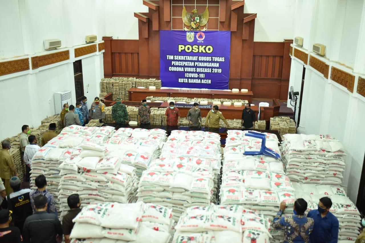 Pemko Alihkan Dana HUT ke 815 Banda Aceh untuk Penanganan Covid 19
