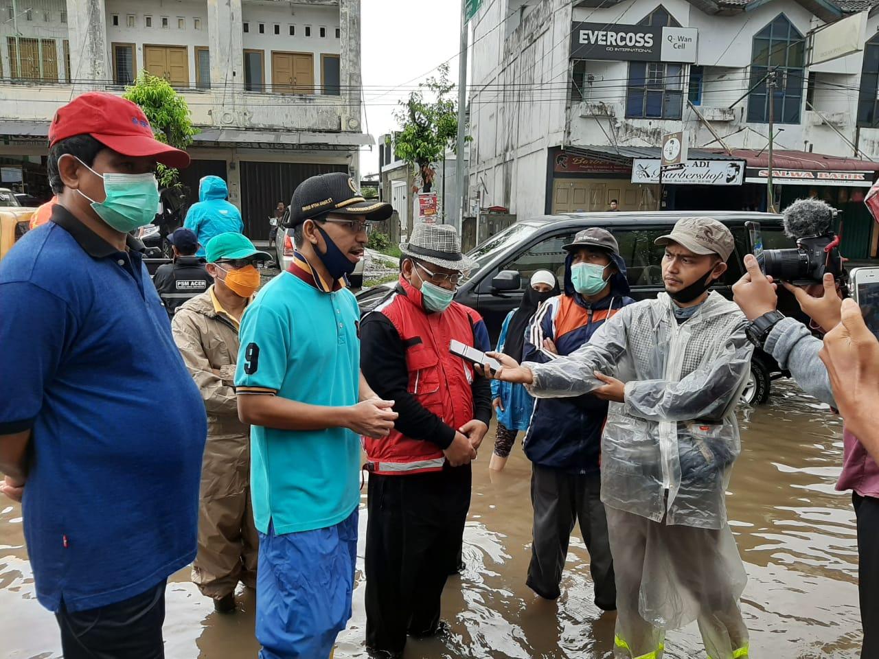 Atasi Banjir di Ibu Kota Provinsi, DPRK dan Pemko Sepakat Plotkan Anggaran Khusus pada 2021