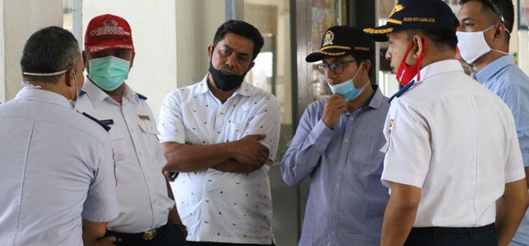 Komisi III Pantau Pelayanan Penyeberangan Publik di Pelabuhan Ulee Lheue Banda Aceh