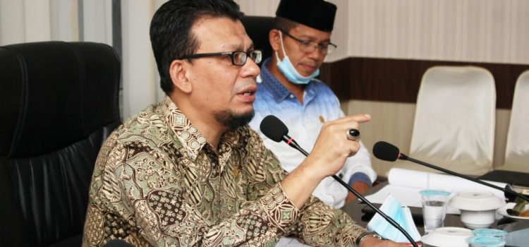 Komisi I Minta Program dan Kegiatan Tahun 2021 Sesuai RPJMD Kota Banda Aceh