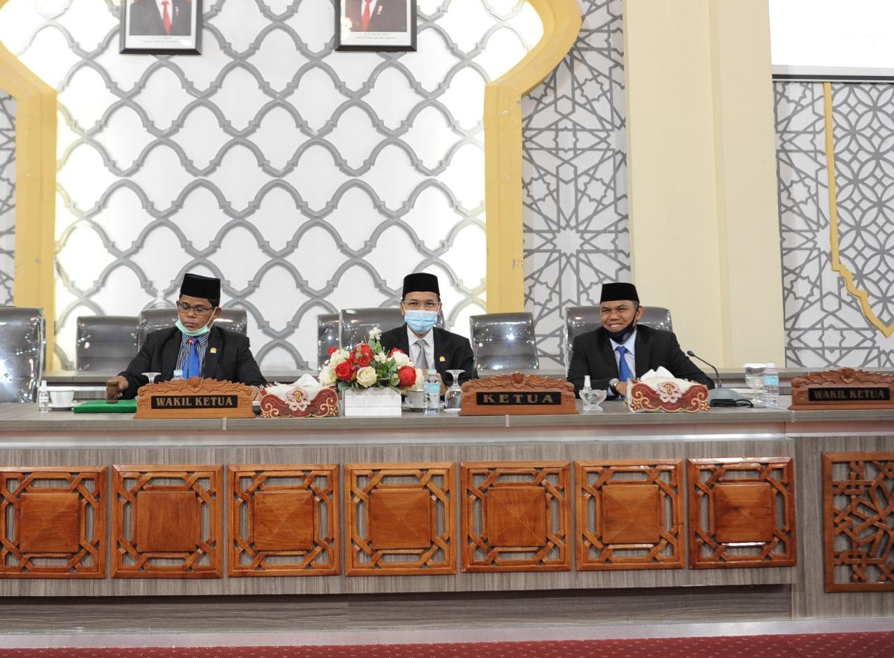 Dewan Dengarkan Jawaban Wali Kota terkait R-APBK 2021