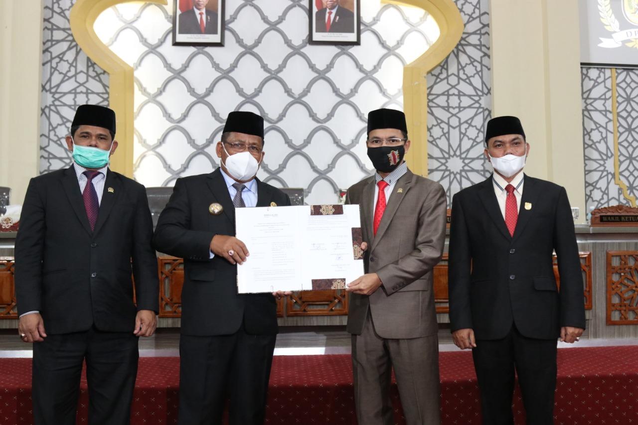 Seluruh Fraksi Terima R-APBK Banda Aceh 2021 Disahkan Menjadi Qanun