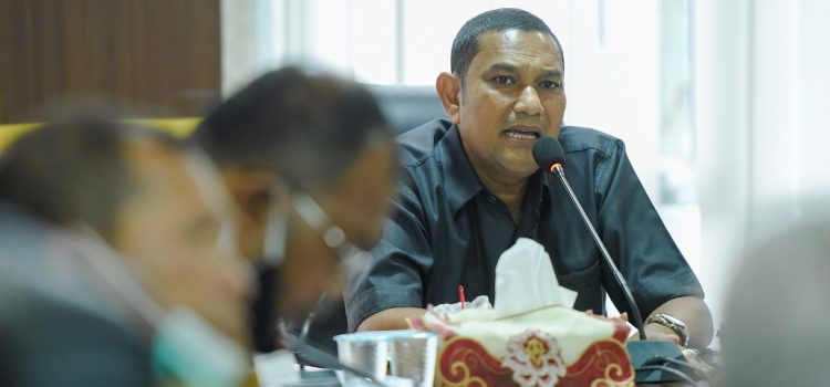 Pansus DPRK Bahas Raqan Perum Daerah Air Minum Tirta Daroy