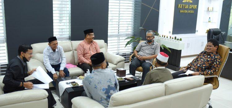 Pimpinan Dewan Terima Kunjungan Imum Mukim Kuta Alam