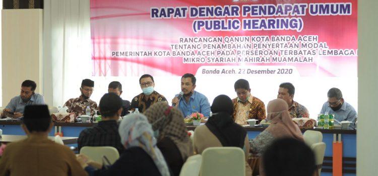 Dewan Gelar RDPU Raqan Penambahaan Penyertaan Modal LKMS Mahirah Muamalah