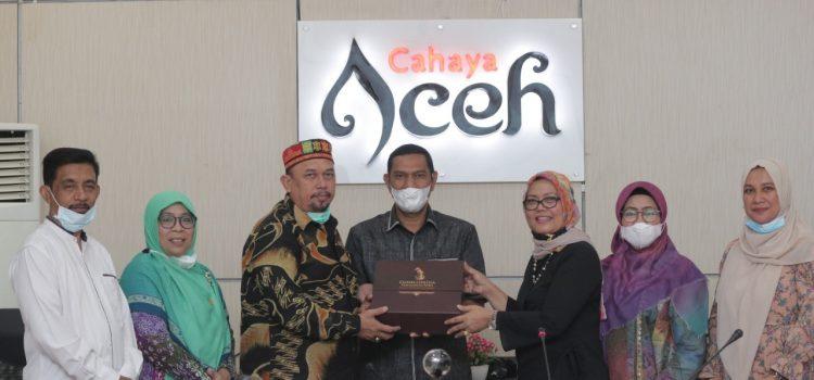Banleg Konsultasikan Kewenangan Pengelolaan Cagar Budaya ke Disbudpar Aceh