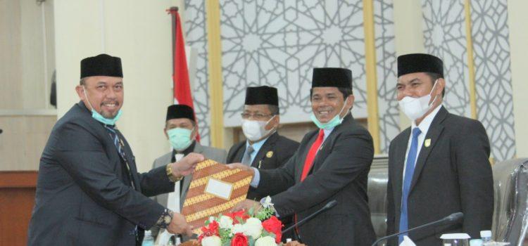 Banleg DPRK Banda Aceh Sampaikan 18 Proleg 2021