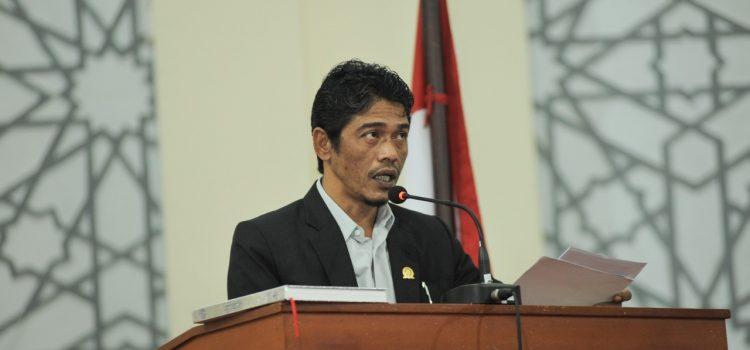 Pandangan Fraksi NasDem-PNA terhadap Lima Raqan Inisiatif Dewan Tahun 2021