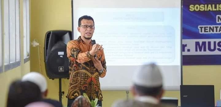 Ketua Komisi I Sosialisasikan Qanun Pendidikan Diniyah di SMPN 13