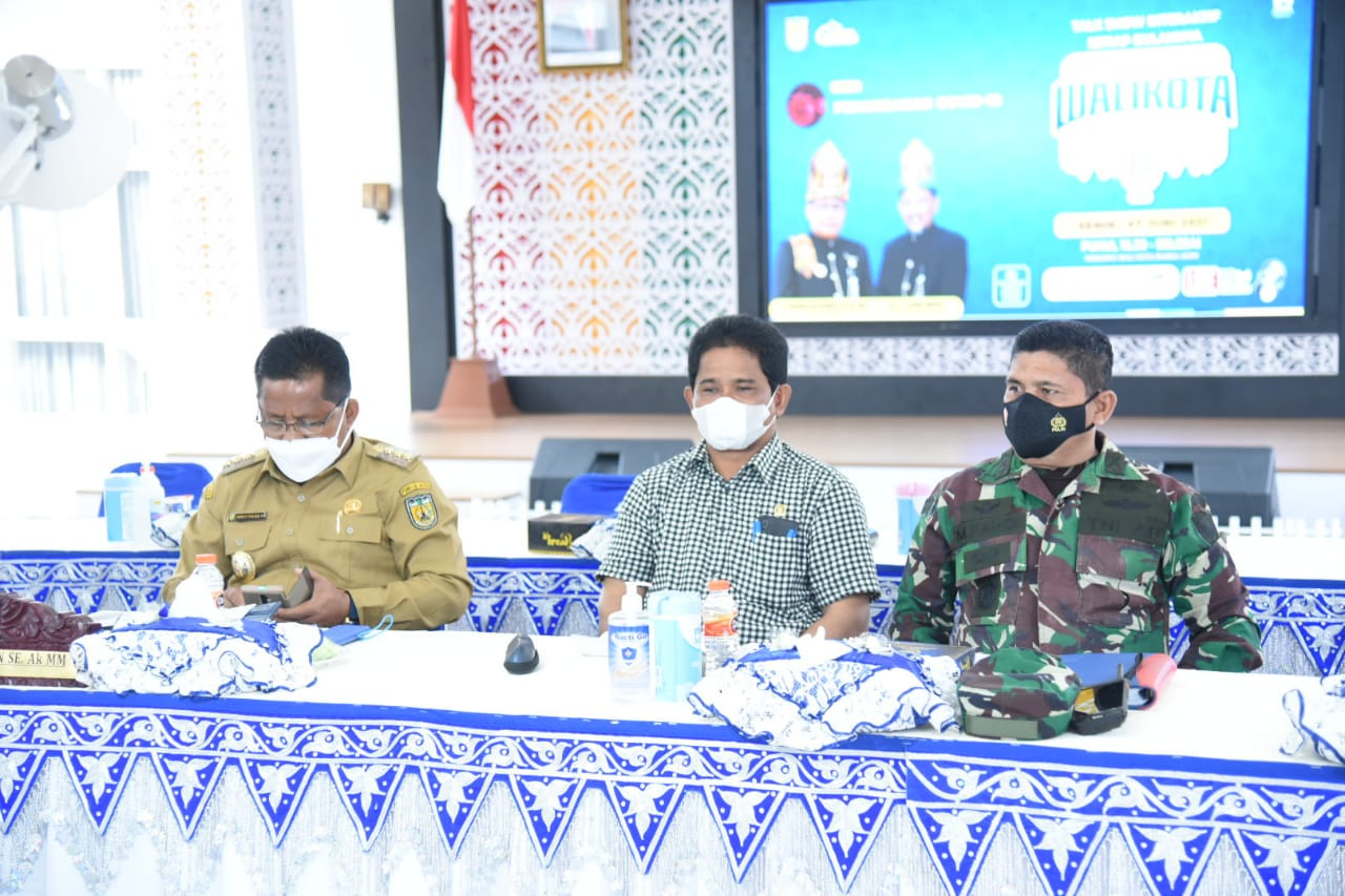 [FOTO]: Wakil Ketua DPRK Hadiri Talkshow Wali Kota Menjawab di Pendopo