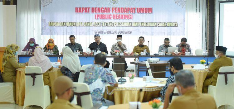 Dewan Sayangkan Pegiat Konservasi Situs Sejarah Tak Hadiri RDPU Raqan Cagar Budaya