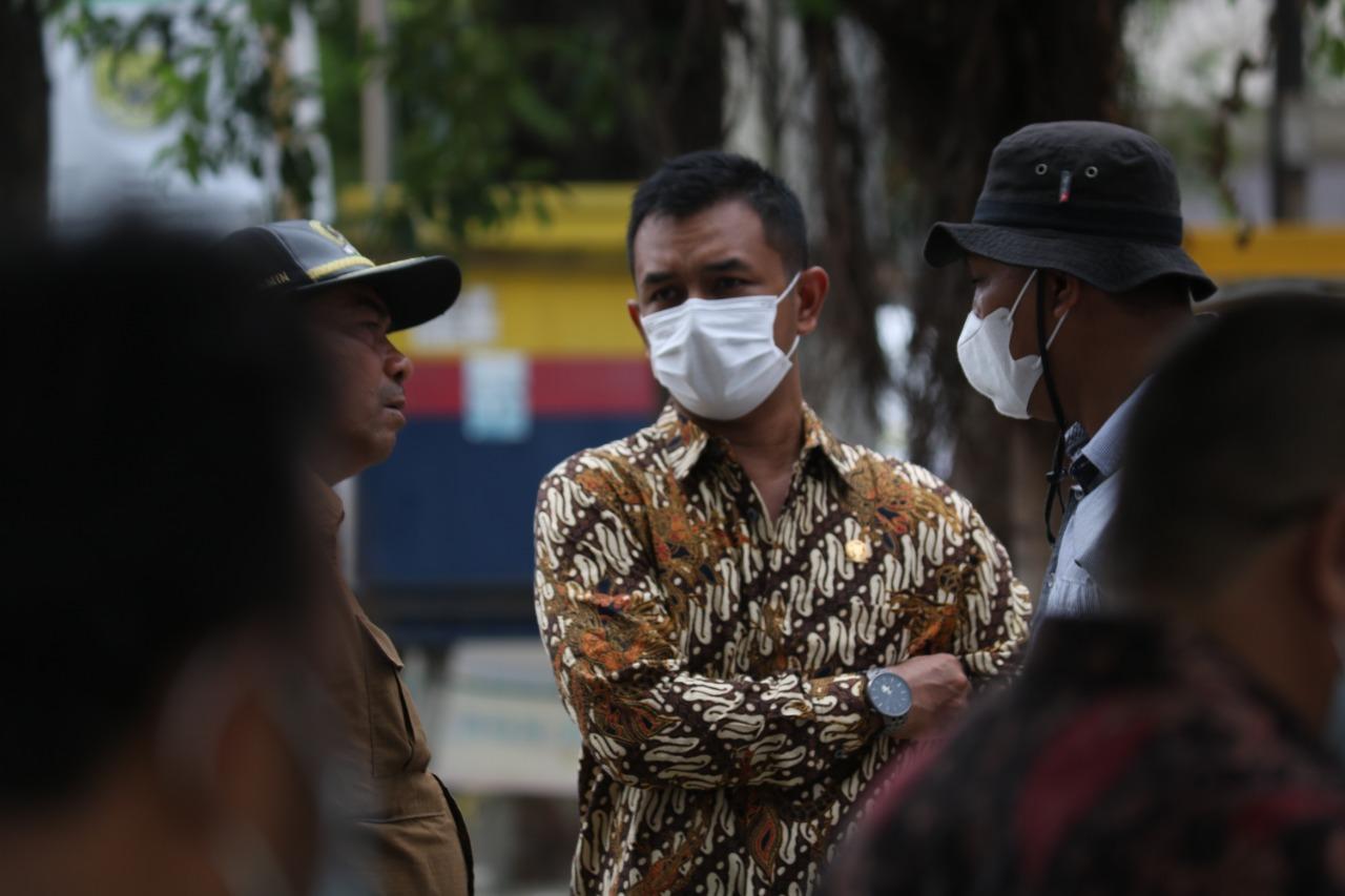 Komisi III DPRK Banda Aceh Tinjau Pembangunan Area Parkir di Peunayong