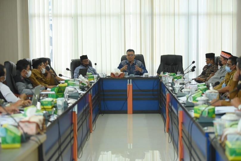 Komisi I Mulai Bahas Raqan Penyelenggaraan Perpustakaan