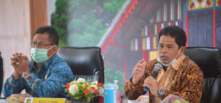 [FOTO]: Wakil Ketua DPRK Hadiri Rapat PPKM