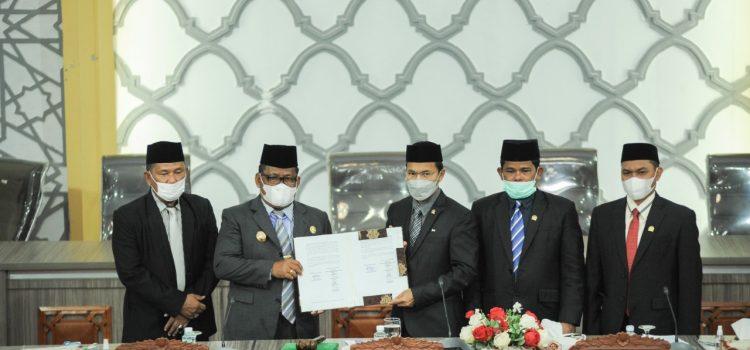 Dewan Tandatangani Nota Kesepakatan KUA-PPAS APBK Banda Aceh Tahun Anggaran 2022