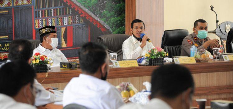 Pemko Banda Aceh Kembali Diminta Tingkatkan 3T untuk Menekan Covid-19