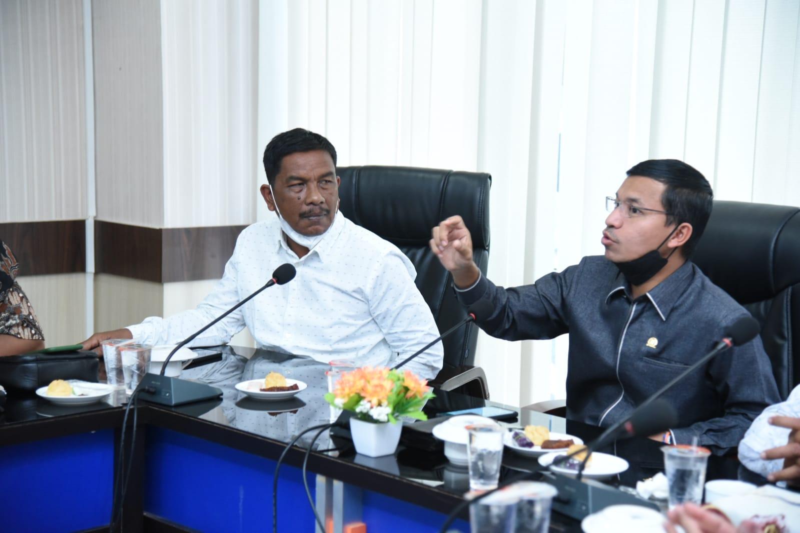 [FOTO]: Pimpinan DPRK Pidie Jaya Kunker ke DPRK Banda Aceh